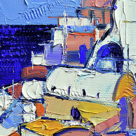 ABSTRACT OIA VIEW - Mini Cityscape #05 - Mona Edulesco