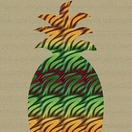 Aimee L Maher Photography and Art Visit ALMGallerydotcom - Abstract Pineapple