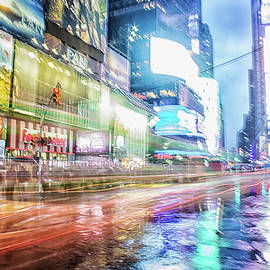 Martin Newman - Abstract Times Square