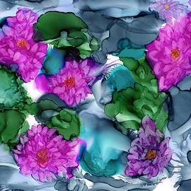 Eunice Warfel - Abstract Water Lilies