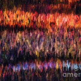 Amy Cicconi - Abstract25 digital oil painting full of texture and bright color