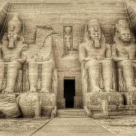Nigel Fletcher-Jones - Abu Simbel Antiqued