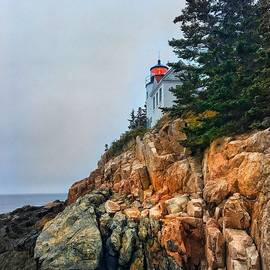 Ethan Johnson - Acadia Lighthouse Photograph