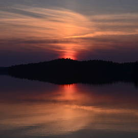 Achray Sunset, Grand Lake, Algonquin Park
