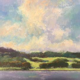 Across the Lake at Peace Valley by Kit Dalton
