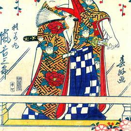 Padre Art - Actor Arashi Kichisaburo 1810