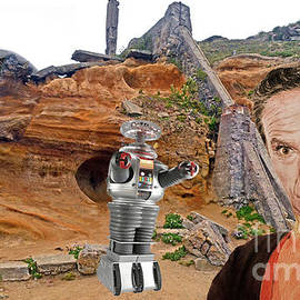 Jim Fitzpatrick - Actor Jonathan Harris As Dr Smith From Lost In Space II