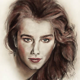 Jim Fitzpatrick - Actress and Model Brooke Shields