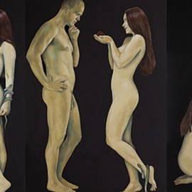 Adam And Eve by Jovana Kolic