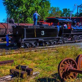 Garry Gay - Adding Oil To Steam Train No 3
