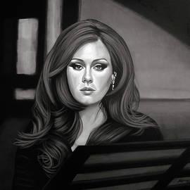 Paul Meijering - Adele Mixed Media