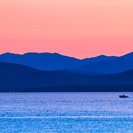 Adirondack View At Lake Champlain by Sven Kielhorn
