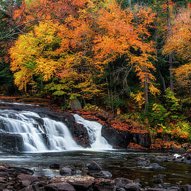 Mark Papke - Adirondacks waterfall