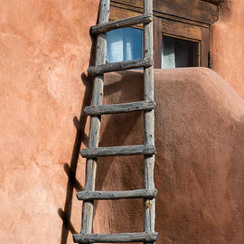 Adobe Ladder by Jerry Fornarotto