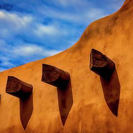 Adobe Wall With Beams - Garry Gay