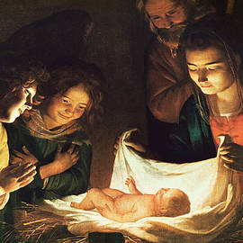 Adoration of the baby