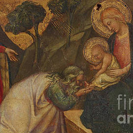 Adoration of the Magi  - Aretino Luca Spinello or Spinelli
