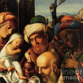 Adoration of the Magi  - Francesco di Simone da