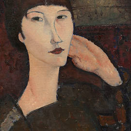 Adrienne by Amedeo Modigliani