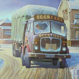 AEC Tinfront in the snow. - Mike Jeffries
