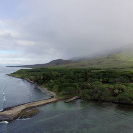 Aerial view of Olowalu, Maui, Hawaii by Ken Fields