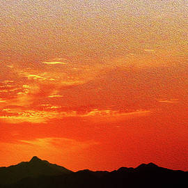 Johanna Hurmerinta - African Sunset Photopainting
