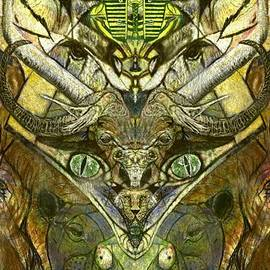 African Animal Totem by Michael African Visions