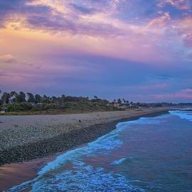 Lynn Bauer - After Sunset Glow on the Ventura Coast