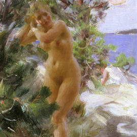 After the Bath - Anders Leonard Zorn
