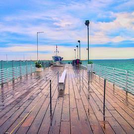 Thomas Woolworth - After The Rain Mackinac Island MIchigan Shuttle Dock