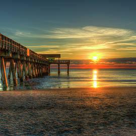 Reid Callaway - After The Storm Tybee Island Pier Sunrise Art