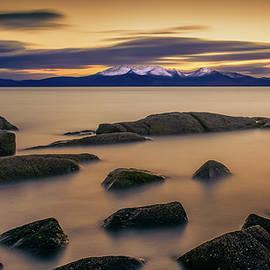 Gareth Burge Photography - After The Sun, Portencross