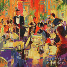 Peter Graham - Afternoon at the Ritz