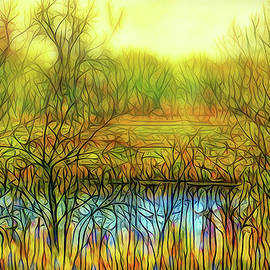 Joel Bruce Wallach - Afternoon Autumn Glow