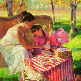 Afternoon Tea Party by Steve Henderson
