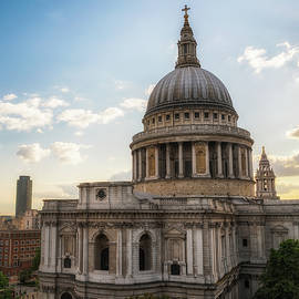 Afternoon View Of St. Paul's Cathedral by James Udall