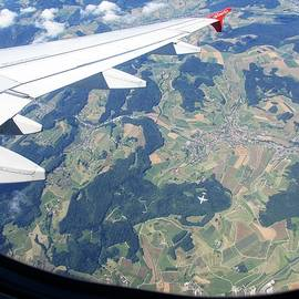 Air Berlin Over Switzerland by Travel Pics