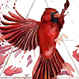 Air Cardinal by D Renee Wilson