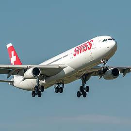 Airbus A340 Swiss Air HB-JMI