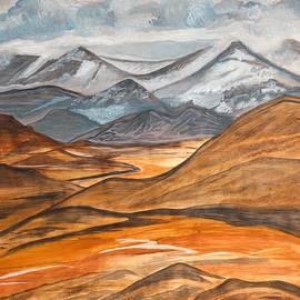 Alaska in November Larger Print Version by Barbara Donovan
