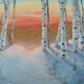 Art Nomad Sandra Hansen - Alaskan road