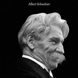 Albert Schweitzer Portrait by M Spadecaller