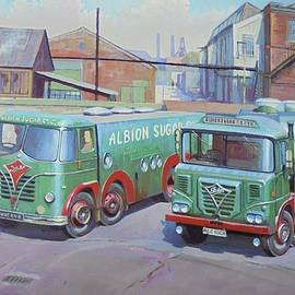 Mike Jeffries - Albion Sugar Fodens at Rochester