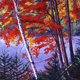 David Lloyd Glover - Algonquin Lake Fall
