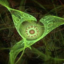 Alien Mecha-Vegetation by Lilia D