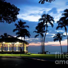 Alii Kahekili Nui Ahumanu Beach Park Hanakaoo Kaanapali Maui Hawaii by Sharon Mau