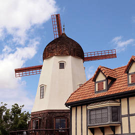 Alisal Road Windmill by Art Block Collections