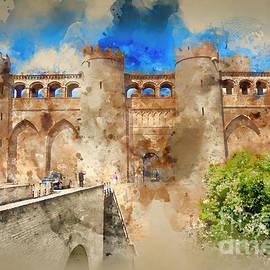 Aljaferia Moorish Palace Spain by Jack Torcello