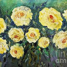 All Yellow Roses by Amalia Suruceanu