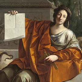 Allegory Of Geometry by Laurent de La Hyre